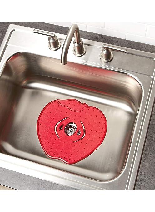 Amazon.com: Set of 2 Apple Sink Mats: Kitchen & Dining