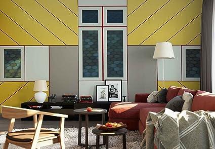 Papel tapiz fotomural parete facciata finestre pavement