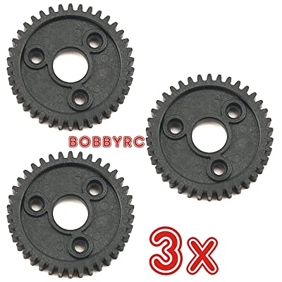Bobbyrc Traxxas 3955 Spur Gear 40T 1.0P (3pcs) Revo 2.5/3.3 Slayer 3.3 Slayer Pro 4X4: Toys & Games