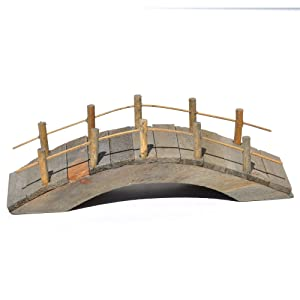 Wooden Bridge for Miniature Garden, Fairy Garden