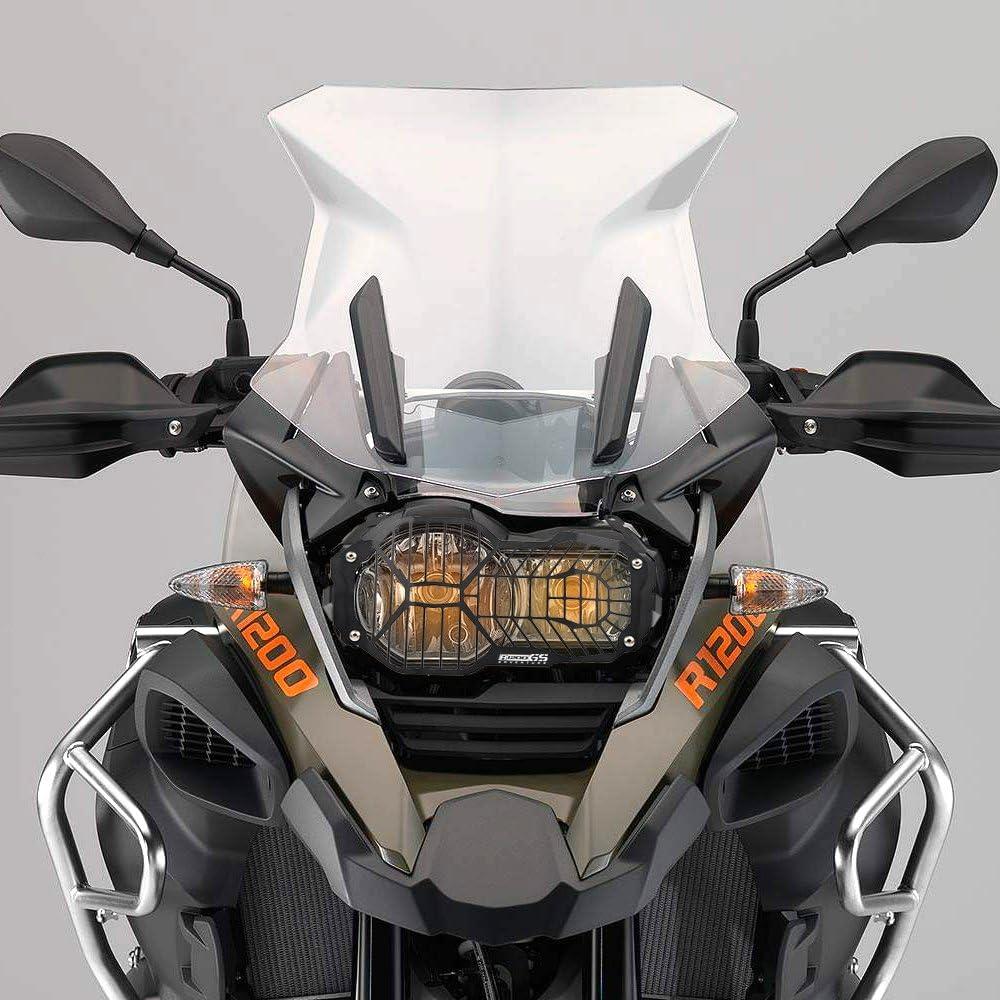 Motorrad Schutzzubehör Frontscheinwerfer Schutzhülle Für R1200gs Lc Adventure 2013 2014 2015 2016 Schwarz Auto