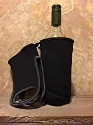 Portable insulated wine bottle cooler tote - Amazon porta vino ...