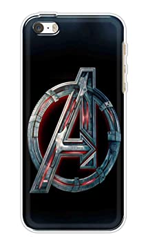 PM Printed Soft Silicone Matt Back Cover/case for Apple iPhone 5/5s||Avengers Logo