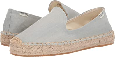 dd28c733ba07 Soludos Women s Platform Smoking Slipper Chambray 5 ...