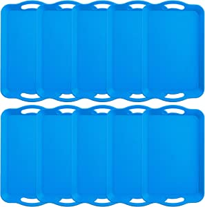 10-Pack Handled Cafeteria Trays - 14