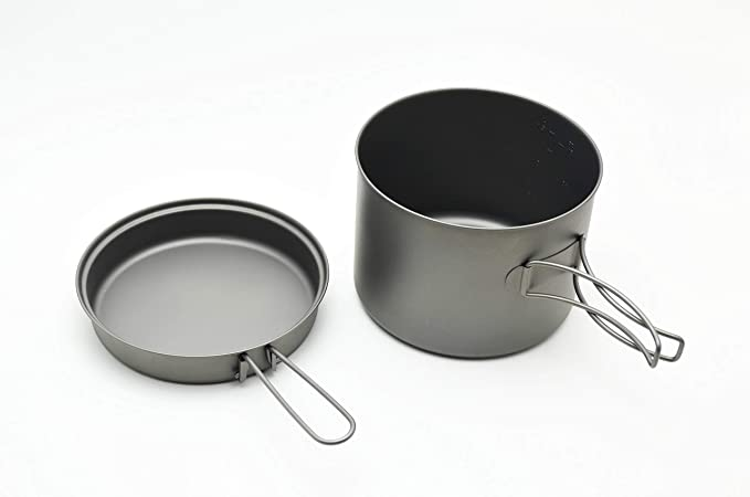 Amazon.com: TOAKS Titanium cacerola de 1600 ml con ...