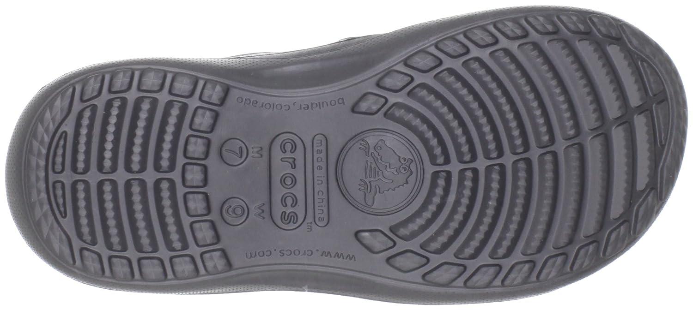 ab37cfdb6cd98 Crocs Unisex-Adult Duet Athens Sandal Black Graphite 12058-02S-184 7 UK   Amazon.co.uk  Shoes   Bags