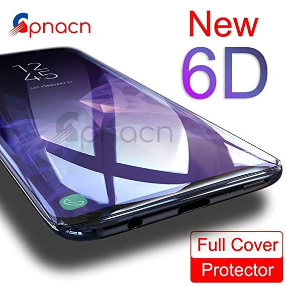 Amazon.com: 6D Curved Protective Tempered Glass for Samsung ...