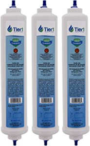 Tier1 Replacement for GE GXRTDR Inline Water Filter 3 Pack