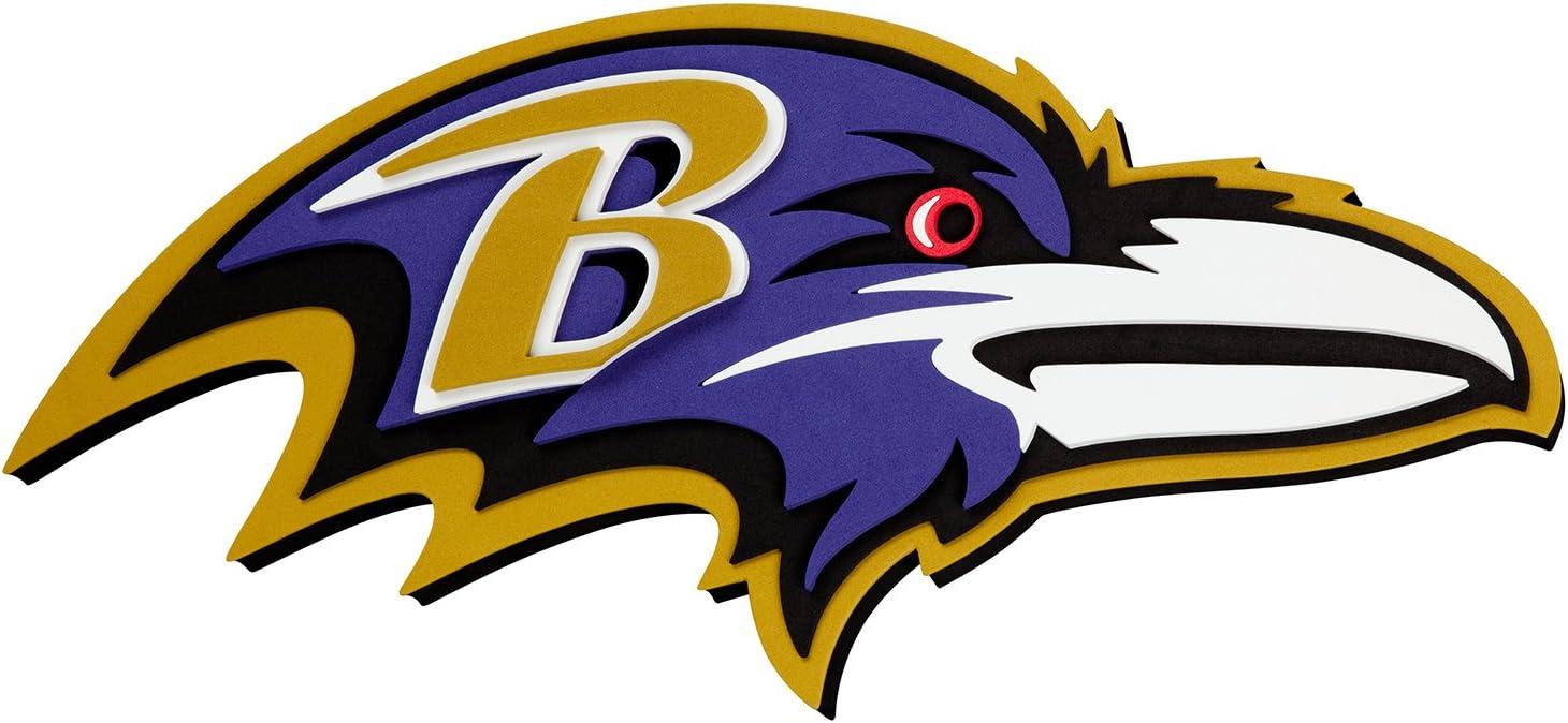 NFL Baltimore Ravens 3D Foam Wall Sign