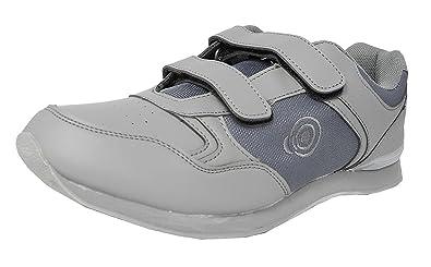 Dek Jack Bowlingschuhe, mit Schnürsenkel, Sportschuhe, in Weiß/Grau, für Herren, Grau - Grey PU/Textile - Größe: 38 EU
