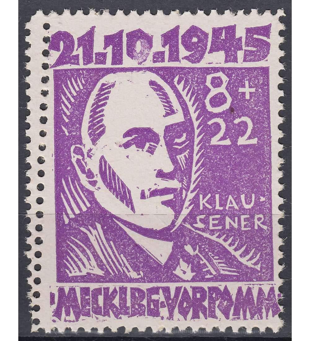 Goldhahn SBZ Nr. 22 postfrisch  mit zusätzlicher Zahnreihe Briefmarken für Sammler