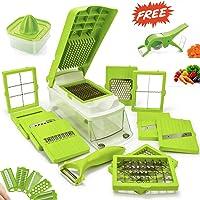 Classvilla German 12 Blades Multi Dicer Vegetable Chopper Cutter for Kitchen (900ML)
