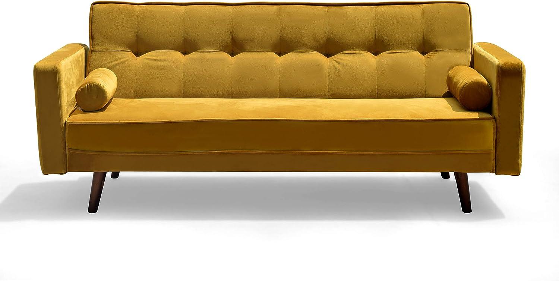 - Cherry Tree Furniture NORA 3-Seater Fabric Sofa Bed Sleeper Sofa