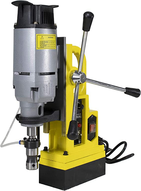 Steel Dragon Tools Magnetic Drill Press with 1-3/4 inch Boring Diameter & 2700 LBS Magnetic Force