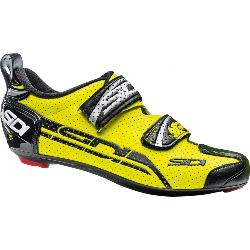 Sidi T-4 Air Carbon Composite Cycling Shoe 43.0 Mens White//Black
