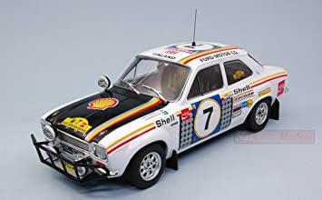 TRIPLE 9 T9-1800132 FORD ESCORT RS1600 N.7 SAFARI RALLY 1972 MIKKOLA-G.PALM 1:18: Amazon.es: Juguetes y juegos