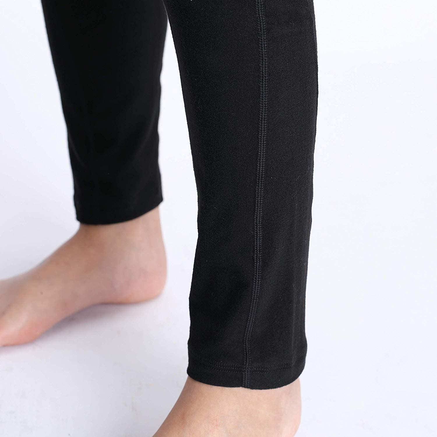 Foucome Maternity Pants for Women,Comfy Stretch Pull-on Work Out Leggings with Pockets