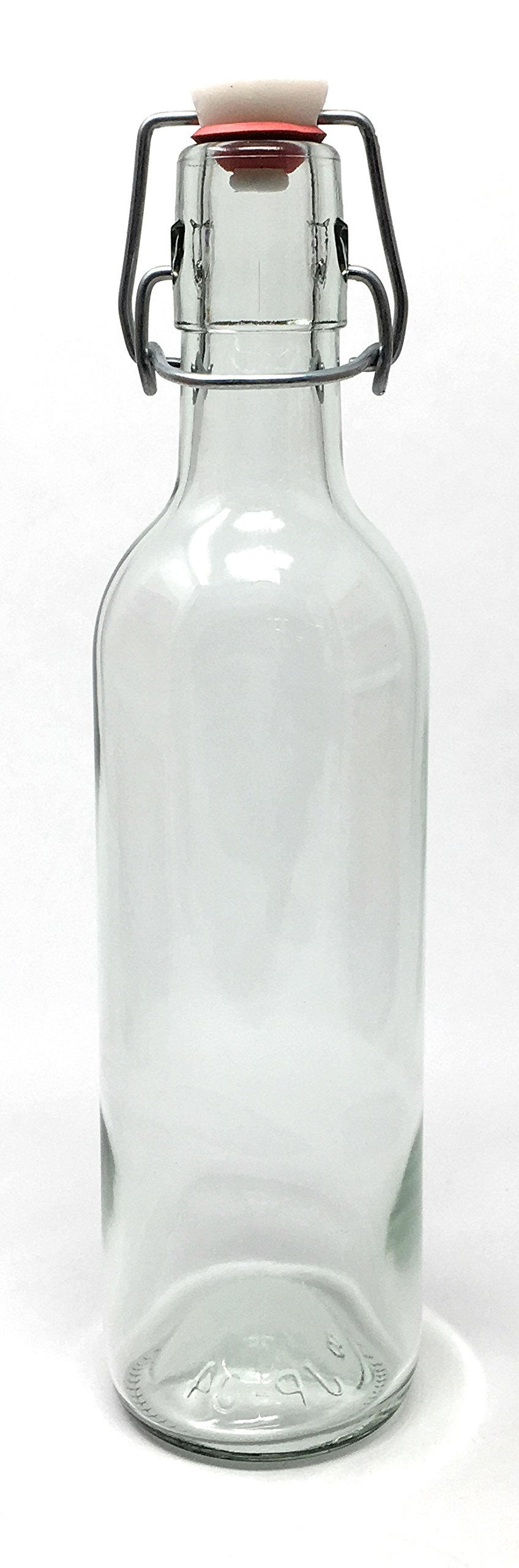 375 ml (12.5 oz) Swing Top Glass Bottle 12 Pack EZ Top JP-04 Metro by Packaging For You