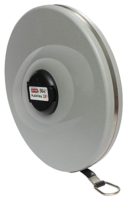 Freemans Measures 3X Fiber Plastika 50m Measuring Tape