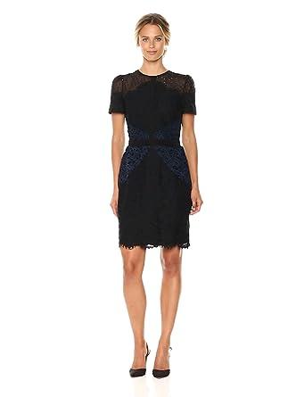 Amazon.com  Adelyn Rae Women s Lola Woven Lace Sheath Dress  Clothing 632bf2e67e