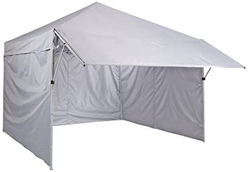 AmazonBasics Pop Up Canopy Tent With Sidewalls