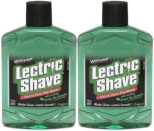 Amazon Com Williams Lectric Shave Electric Razor Pre Shave With
