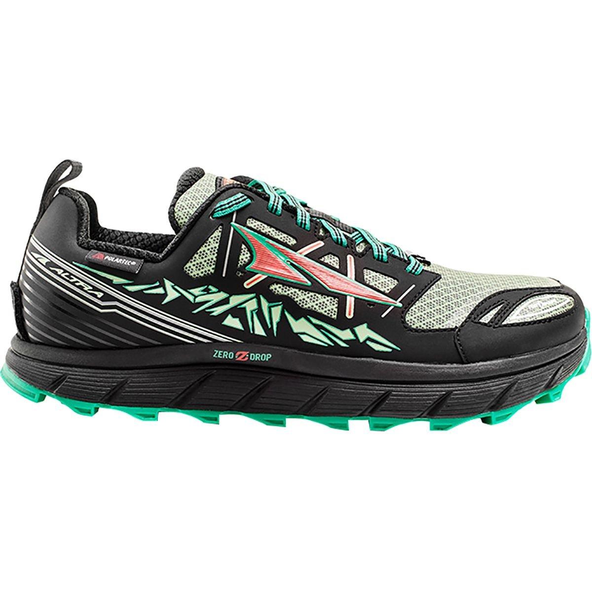 Altra Lone Peak 3.0 Low Neo Shoe - Women's B01B72EMHG 11 B(M) US|Black/Mint