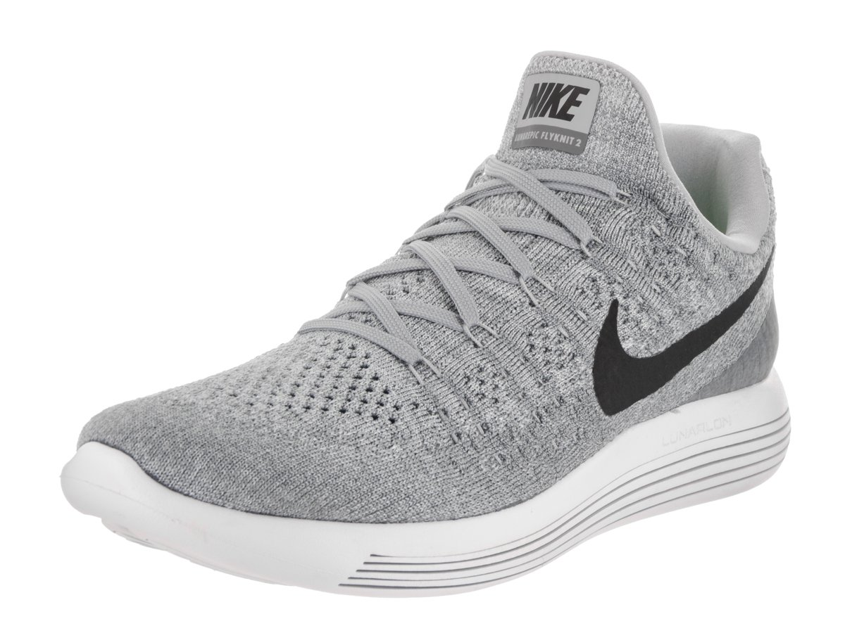ee488202f82 Galleon - Nike Mens LunarEpic Low Flyknit 2 Running Shoes Wolf Grey Cool  Grey Black 863779-002 Size 11