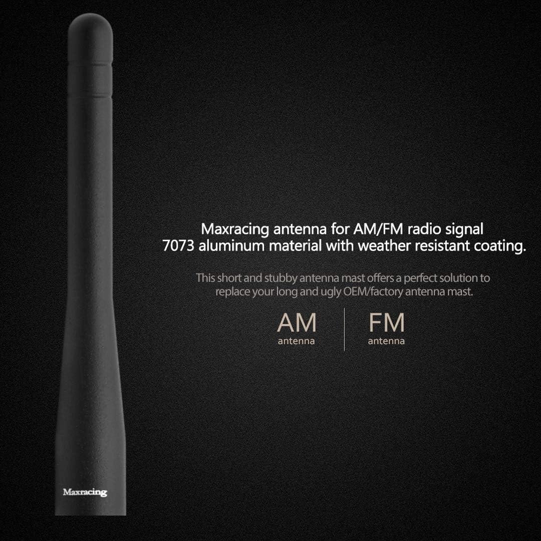 Maxracing Short Aluminum Antenna Compatible with Escape 2013-2019