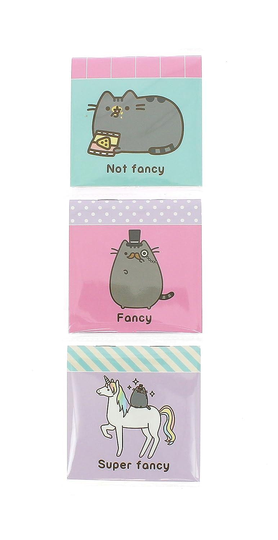Amazon.com : Pusheen Official the Cat - Set of 3 Mini Retro ...