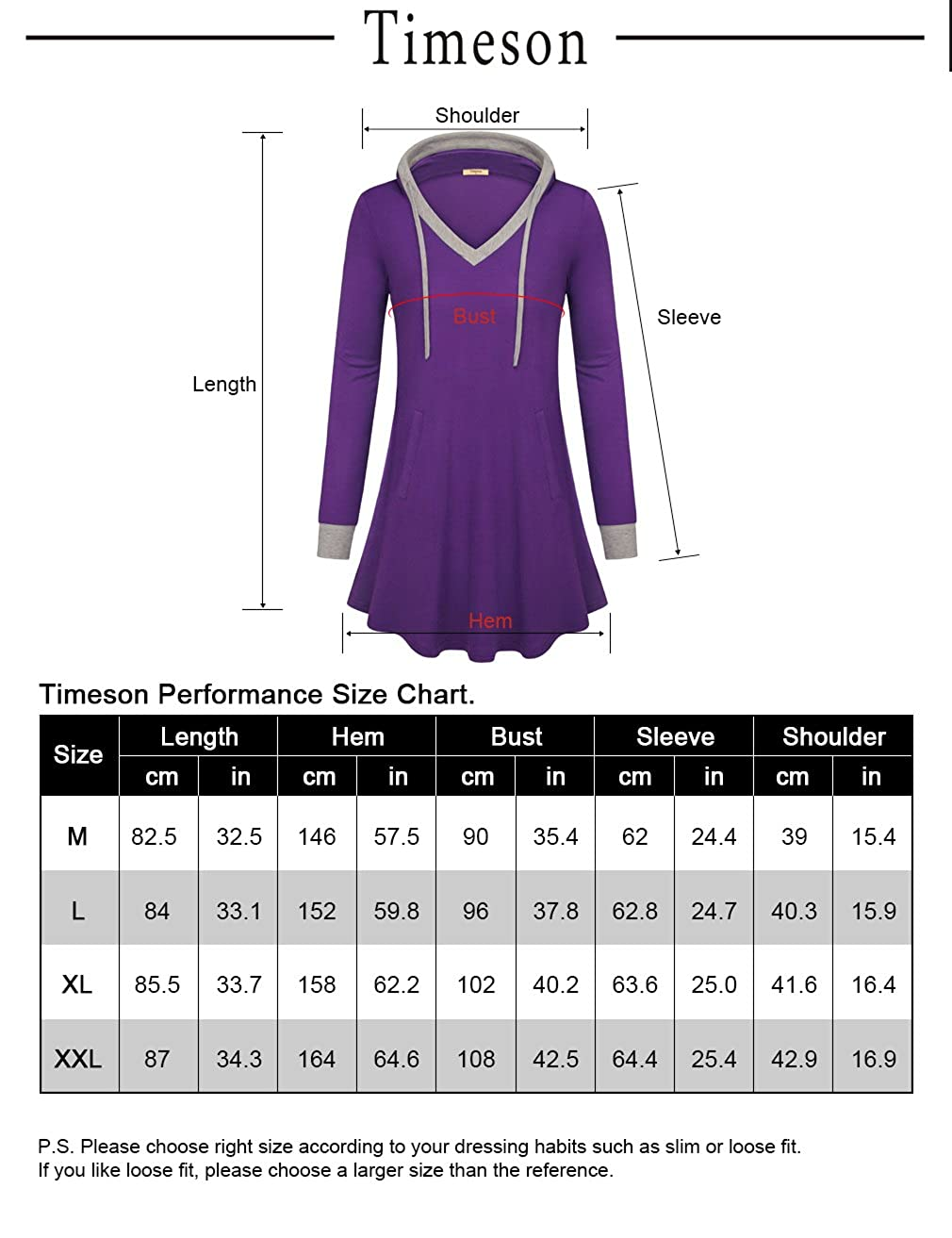 Timeson Womens Pullover T-Shirt Long Sleeve Jersey Fashion Blouse Tops