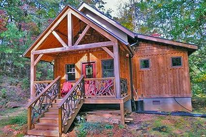 Timber Frame Home Plan The Osborne Design Proof Amazon Com
