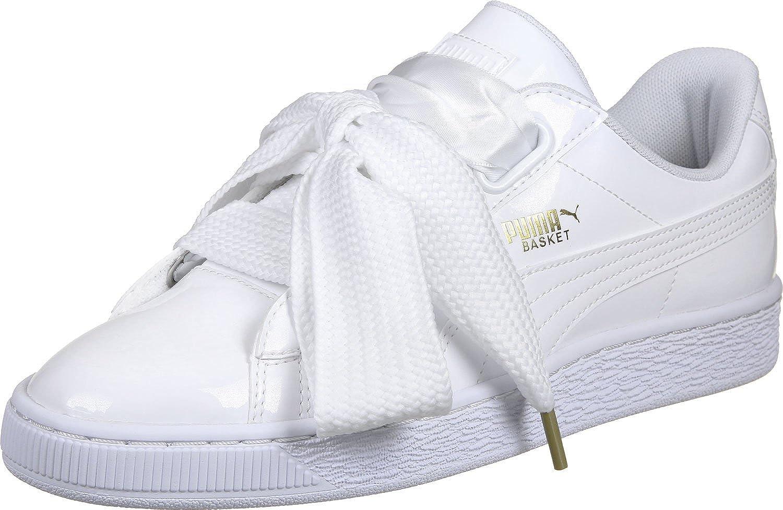 Puma Basket Heart Patent Wns, Zapatillas para Mujer: Amazon.es: Zapatos y complementos