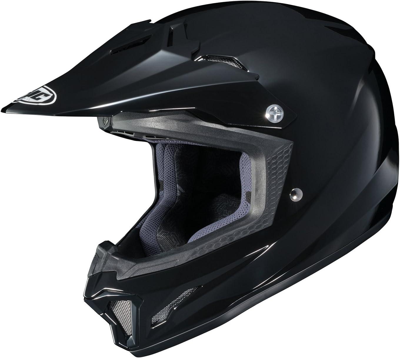 Hi-Viz Yellow//Blue//Black, MD HJC Unisex Child Off-Road Helmet