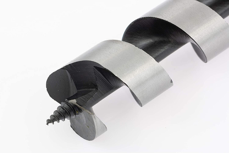 Hex Shank 1 1//2х 9 DENZEL Wood Auger Drill Bit 7770117
