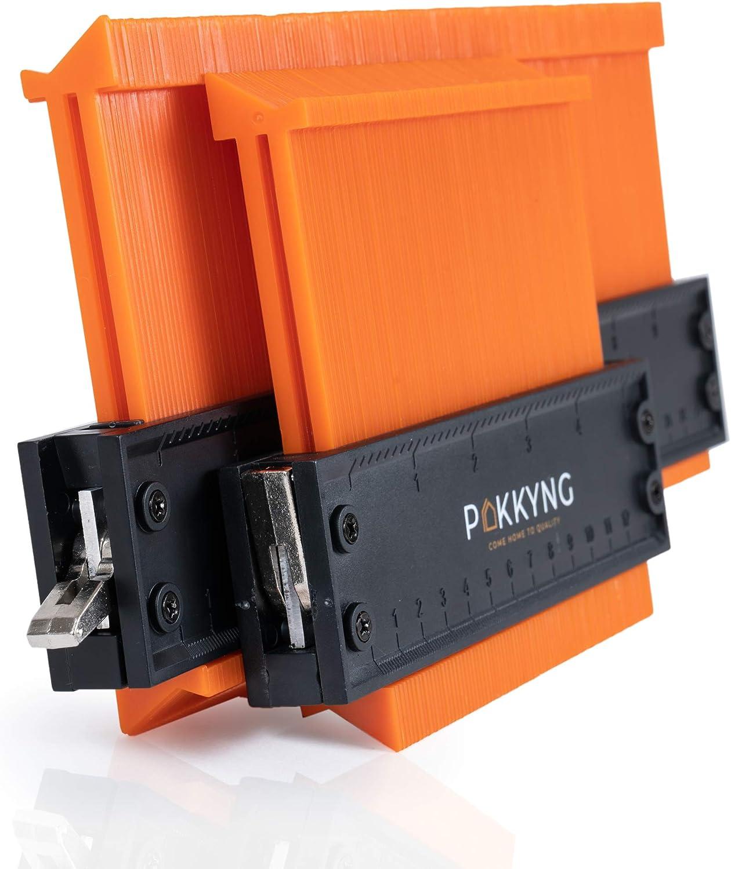 """Contour Gauge Duplicator Lock Wide 10/"""" /& 5/"""" Duplication Profile Tool Angle"""