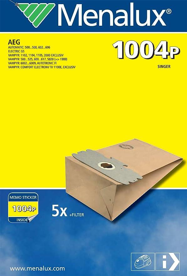 Menalux 1004 P- Bolsas de papel para aspiradoras AEG Vampyr ...