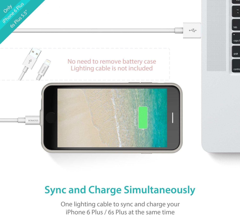 ROMOSS Encase Series (iPhone 6 Plus/6s Plus White)