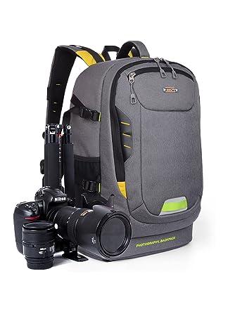 Mochila Cámara, para cámara Canon, Cámara Mochila Laptop, Camera ...