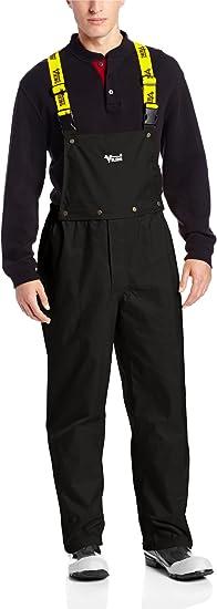 Detachable Bib Pants Black Viking 3307P-XXL Journeyman 420D Heavy Duty Rain Gear-420 Denier Rip-Stop Nylon//PVC 2X-Large