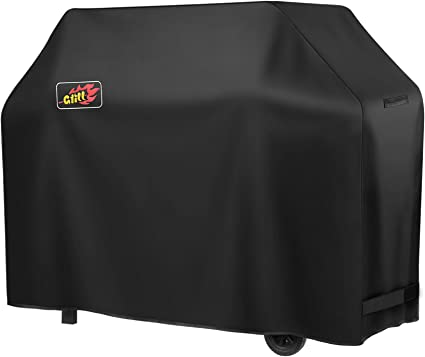Amazon Com Victsing Grill Cover 600d Heavy Duty 58 Inch Waterproof Bbq Cover Gas Grill Cover For Weber Char Broil Sunray Dust Wind Weather Rip Resistant Garden Outdoor