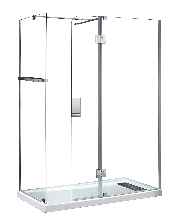 Ove Decors Shower Doors Ove Nevis 466 Shower Door Sleek And Striking Glass Enclosure