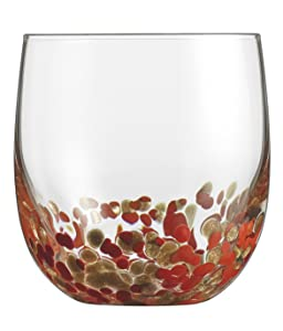 Cuisinart CG-S4DOFRG Double Old Fashioned Glassware Red