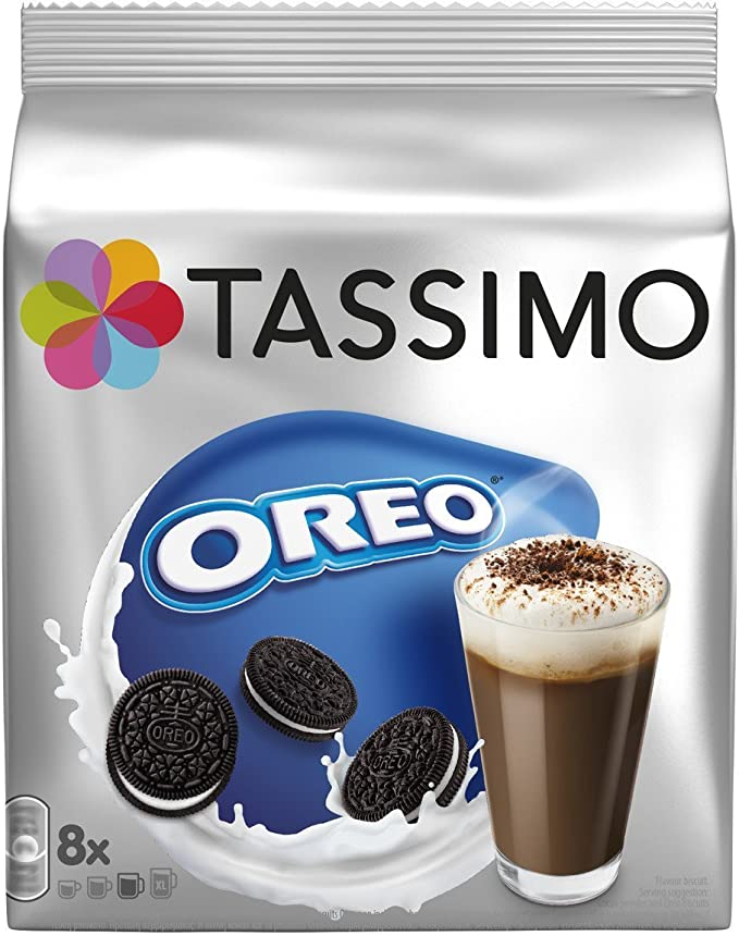 Tassimo Oreo Hot Chocolate x 3 pack (Total 24 servings): Amazon.es ...
