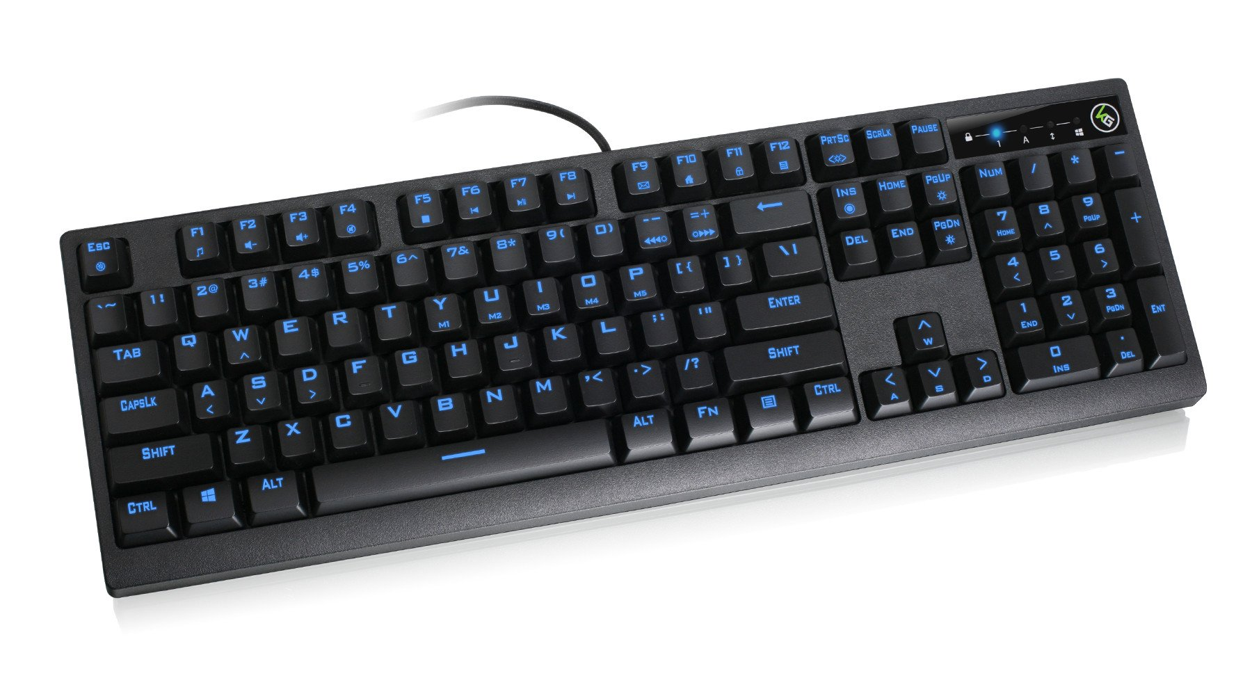 IOGEAR Kaliber MECHLITE Mechanical Gaming Keyboard, GKB710L by IOGEAR