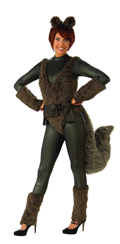 DC Comics Squirrel Girl Adult Costume, Small