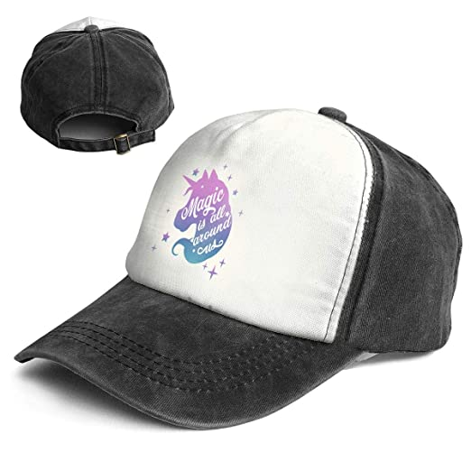 Image Unavailable. Image not available for. Color  Fashion Vintage Hat  Inspiring Watercolor Unicorn Head Silhouette Adjustable Dad ... 0dac937b588b
