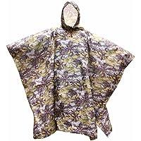 Lixada Poncho de Lluvia Impermeable Camuflaje 3 en