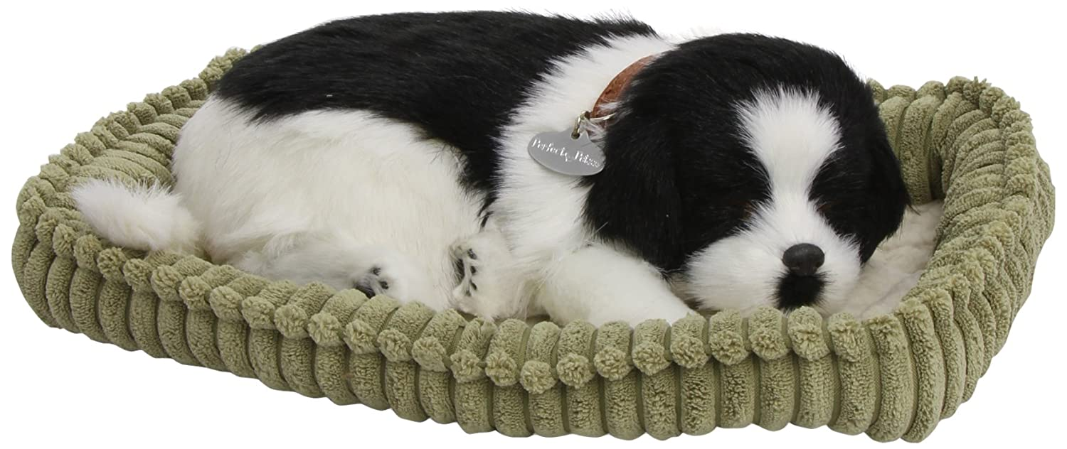Amazon.com: New Perfect Petzzz Border Collie Handcrafted In 100% Synthetic Materials Lots Of Love And Cuddles: Toys & Games